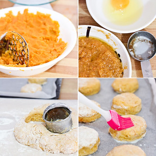 Sweet Potato & Brown Butter Scones | by raspberri cupcakes