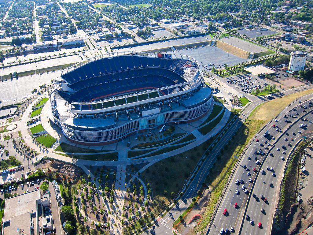 INVESCO FIELD AT MILE HIGH DENVER BRONCOS OPENING DAY 8X10 ... |Mile High Stadium Denver Broncos