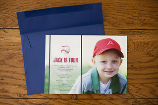 Jack's 4th birthday party invitation | by sarawiety