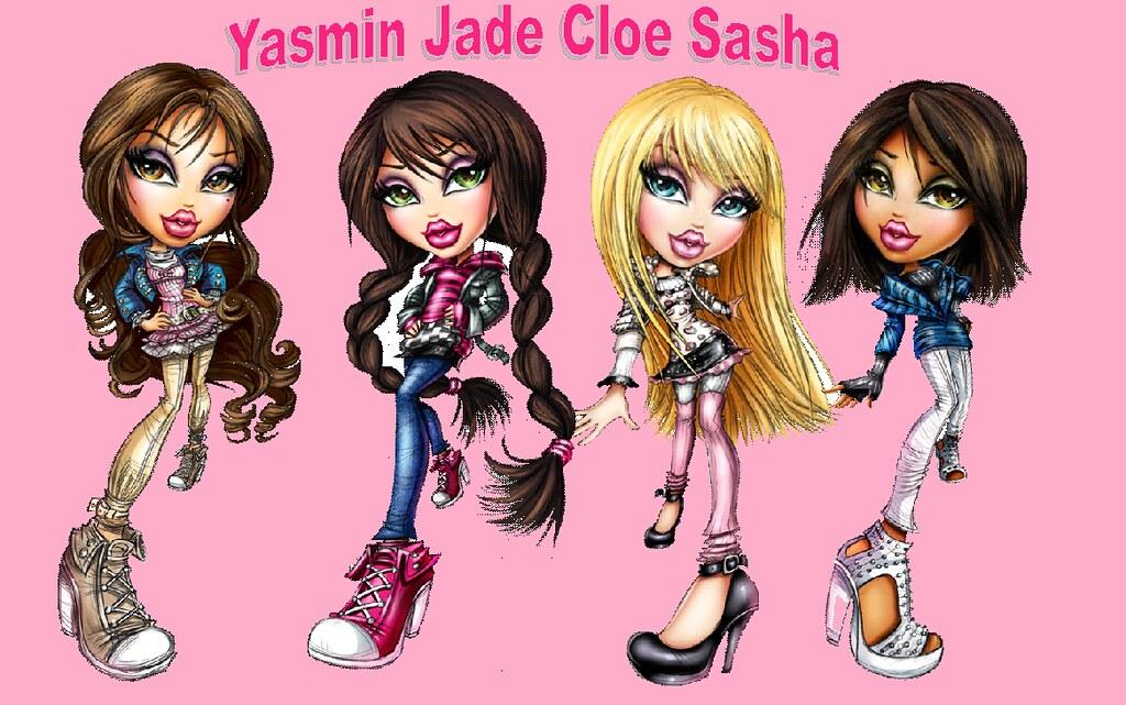 Bratz Friends Forever | Bratz Yasmin Jade Cloe and Sasha ...