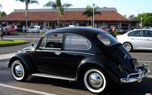 1966 Volkswagen 1300 Bug Black Rear Enderle Center