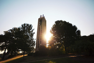 Campanile sunrise | by The University of Kansas Official Flickr Site