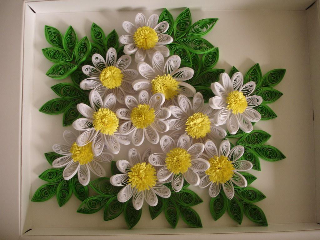 Quilled Flower Arrengmant Ruvini De Silva Sri Lanka Ruv Flickr