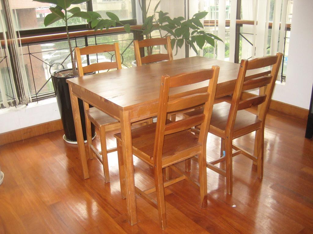 Sold Ikea Jokkmokk Table And 4 Chairs 300 Rmb Paid