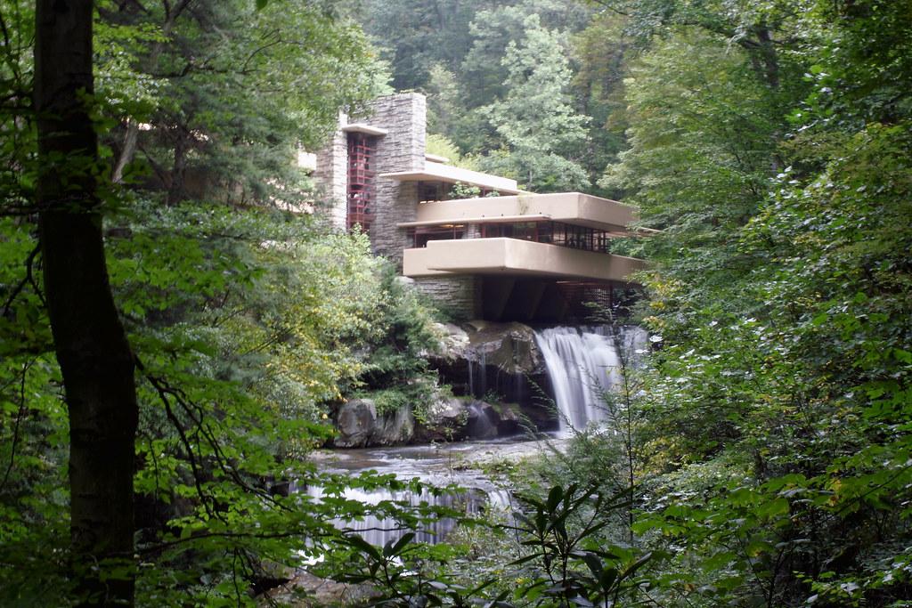 Fallingwater Frank Lloyd Wright Brian Donovan Flickr