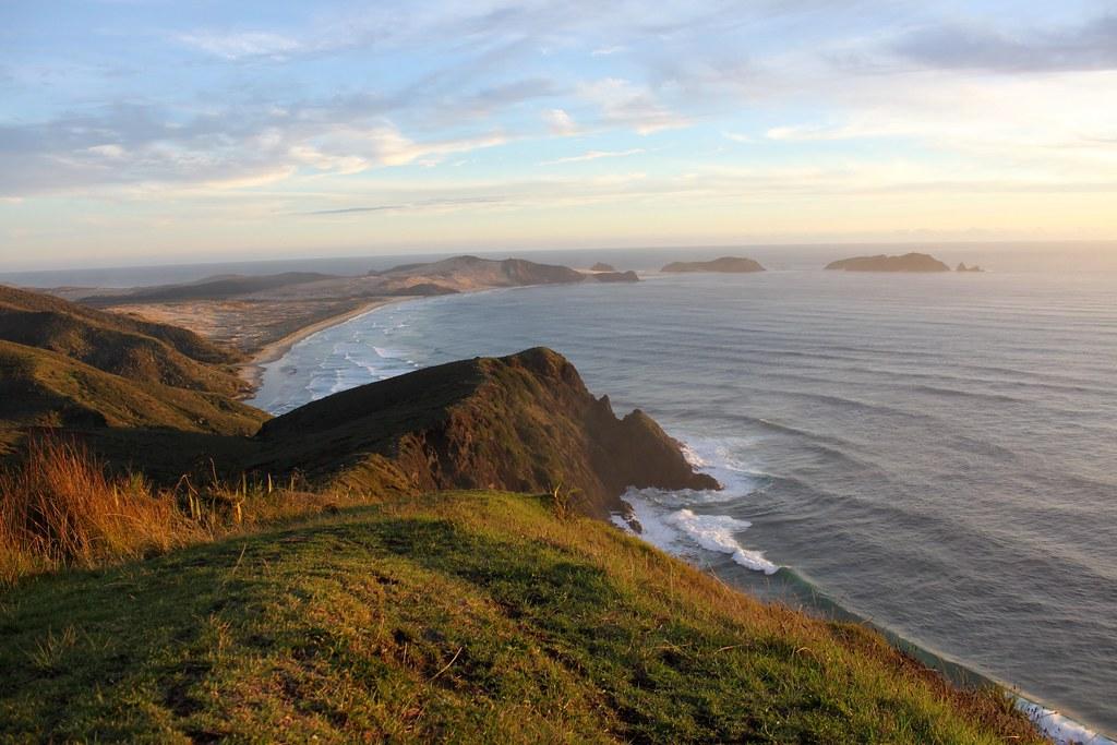 New Zealand: Sunset at...