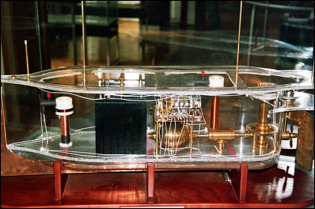Telautomaton Tesla S 1898 Radio Controlled Boat The