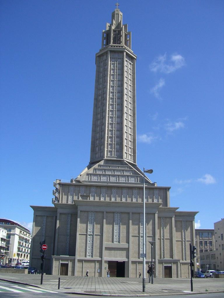 Eglise saint joseph 1951 1956 le havre 76 for 3d architecture le havre