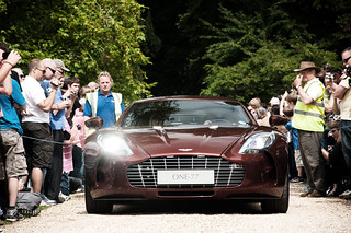 Wilton House Supercar Meet And Classic Car Rendezvous 2011 Aston Martin One 77 | by NWVT.co.uk