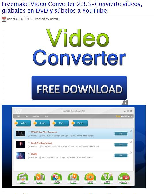 freemake video converter 2.3.3
