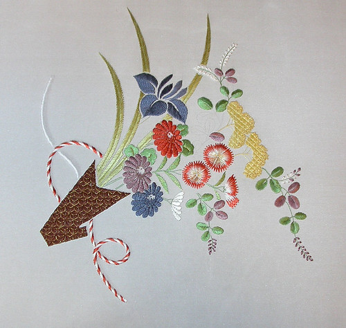Japanese embroidery 8-21-11 | by Marjorie from Illnois