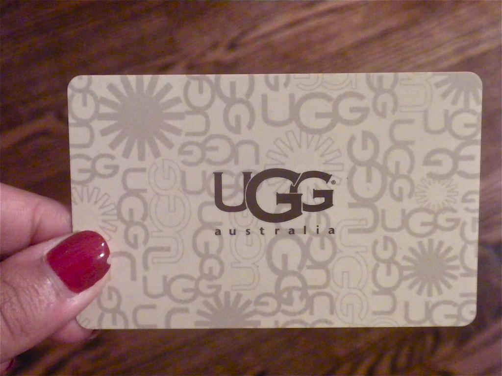 UGG Australia Gift Card | Nicole | Flickr