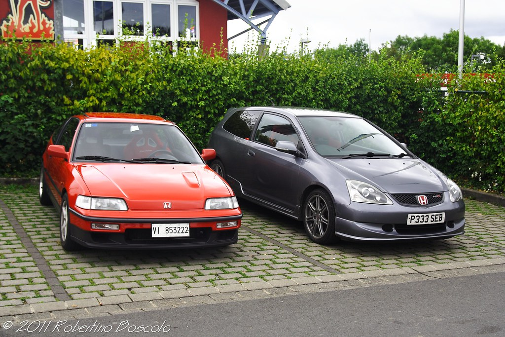 honda crx ed9 and civic type r ep3 robertino boscolo cappon cegion flickr. Black Bedroom Furniture Sets. Home Design Ideas