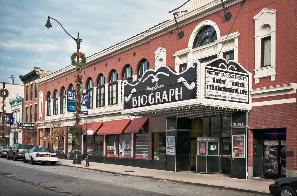 Biograph Theater 1914 2433 North Lincoln Avenue Lincol Flickr