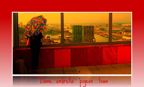 Dame...Umbrella...pigeon...town | by jefpics
