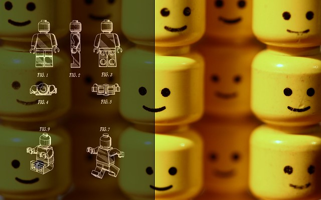 Lego minifig patent
