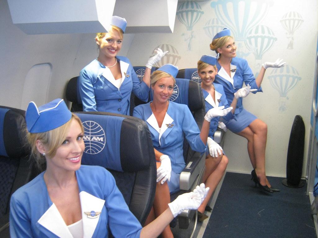 longboard marketing s abc pan am stewardesses abc s pan
