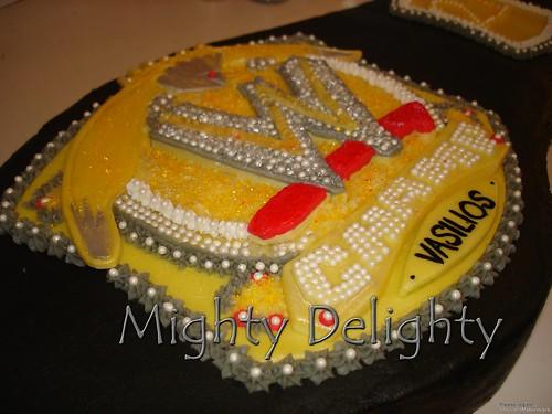 John Cena Wwe Belt Cake John Cena Wwe Belt Cake Black