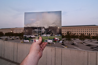 Looking Into the Past: Pentagon From a Distance, September 11, 2001 | by jasonepowell