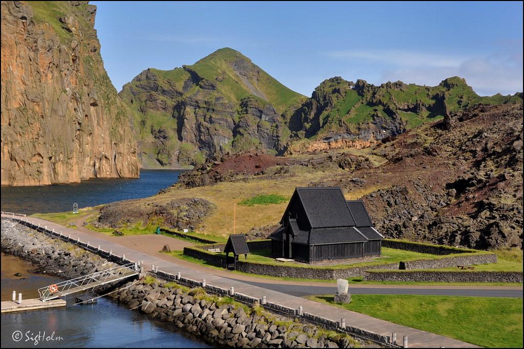 Stave Church di Heimaey, Islandia