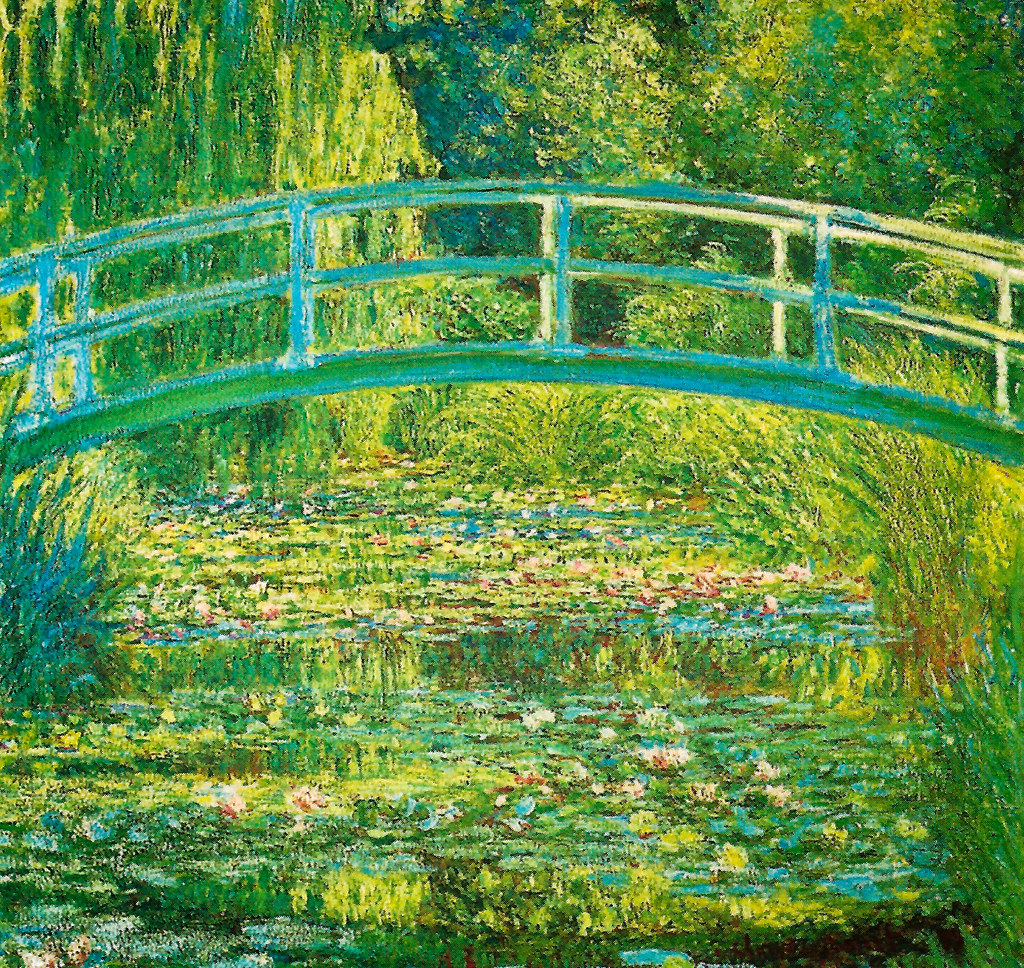 Claude Monet - The Water Lily Pond, 1899 at the National G… | Flickr
