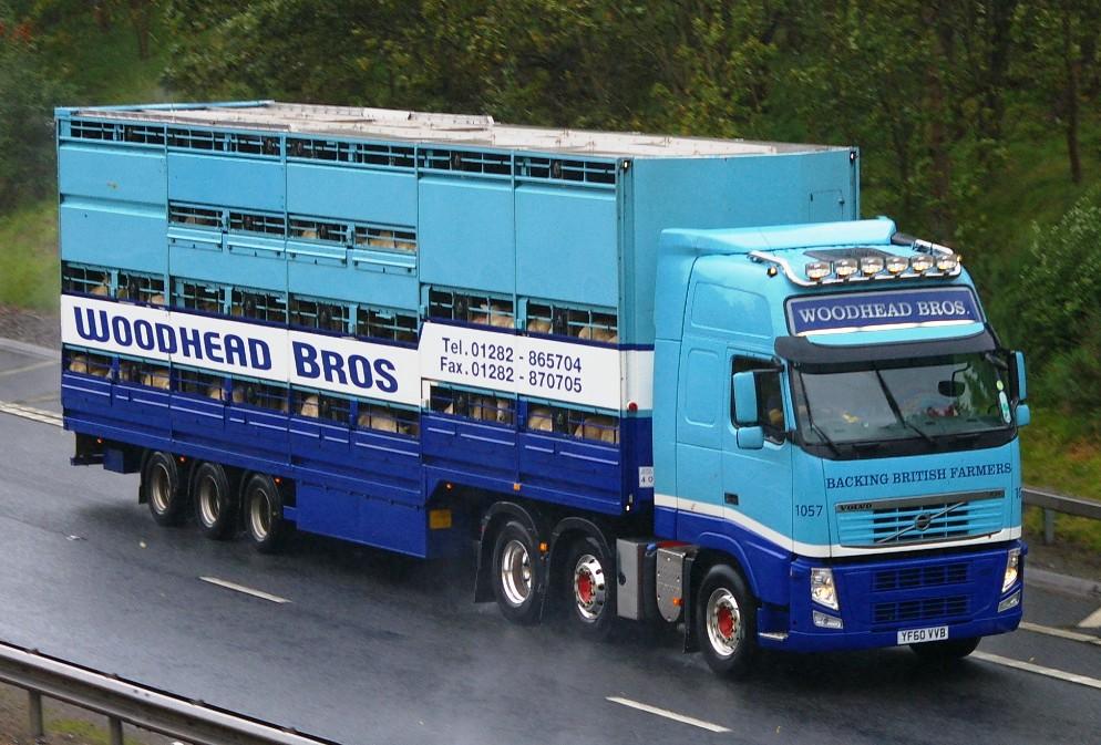 Volvo Fh Woodhead Bros Colne Lancashire Yf60 Vvb M90