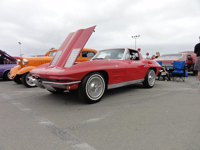 63 corvette split window coupe flickr photo sharing for Corvette split window 63