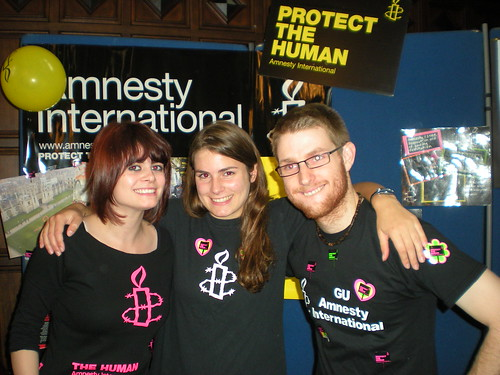 Freshers' Fair 2011 | by Glasgow University Amnesty