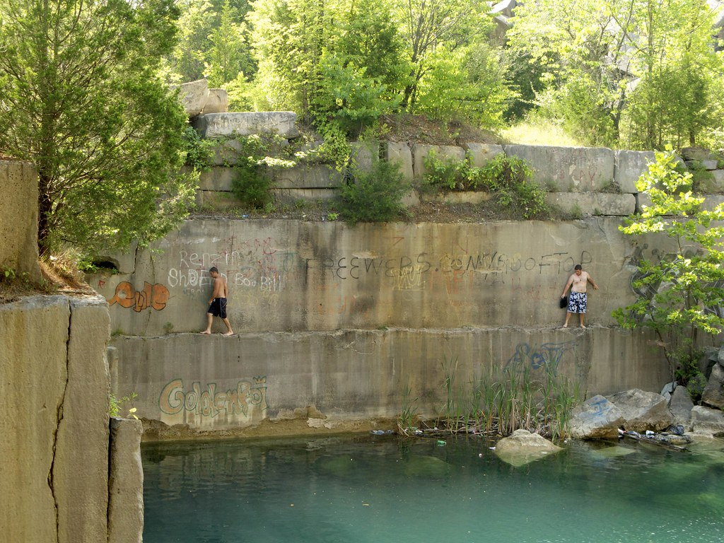 Rooftop Quarry Swimming Flickr