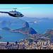 Flying high over Rio de Janeiro