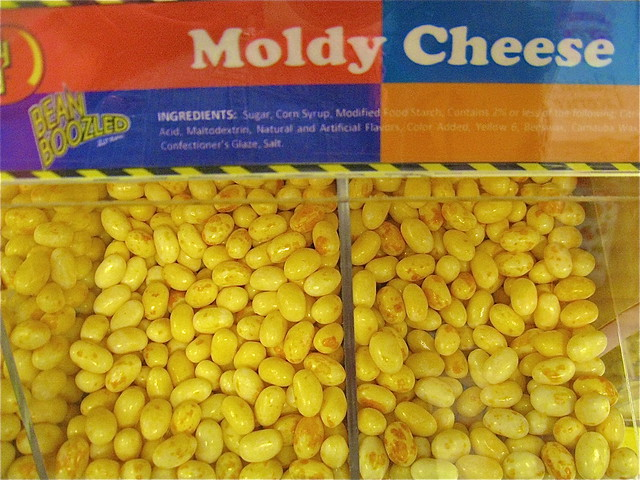 bertie botts every flavor beans moldy cheese taste