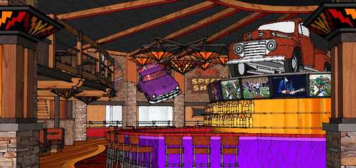 Interior Restaurant Sketch   Conceptual Restaurant Design ...