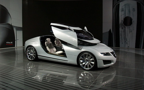 Saab Aero X  -  Prototype at London Motorshow | by VitorJK