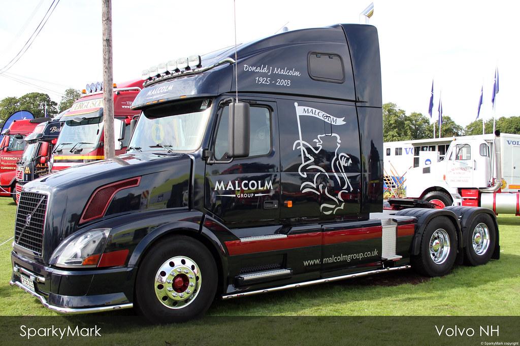 W H Malcolm Logistics Volvo Vn Sparkymark S Aircraft