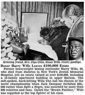 Former Heavyweight Boxer Harry Wills Leaves $100,000 Estate - Jet Magazine, January 15, 1959 | by vieilles_annonces