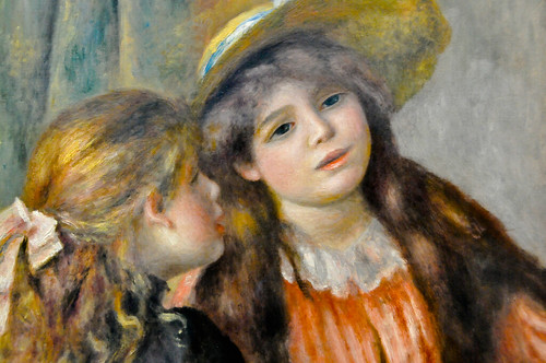 Pierre auguste renoir portrait de deux fillettes 1892 a for Auguste renoir paris
