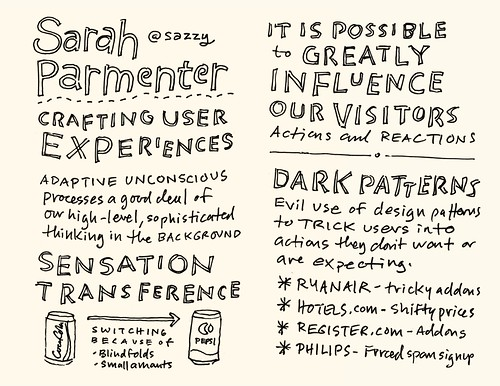 AEA Minneapolis Sketchnotes: Sarah Parmenter - 29-30 | by Mike Rohde