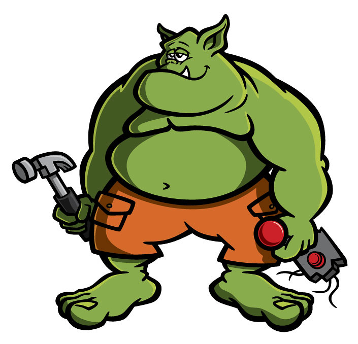 ogre cartoon character design ogre cartoon character Funny Camera Clip Art Camera Shutter Clip Art