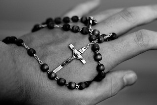 The cross on my hand | by Robin Dahling
