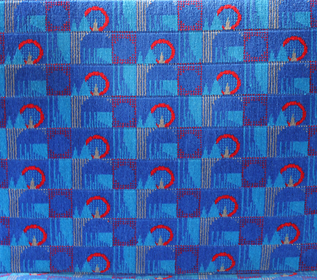 barman new blue barman 1992 tube stock seating moquette flickr