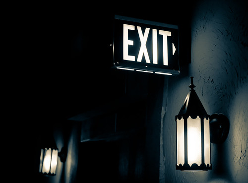 Exit (Now) | by chrismar