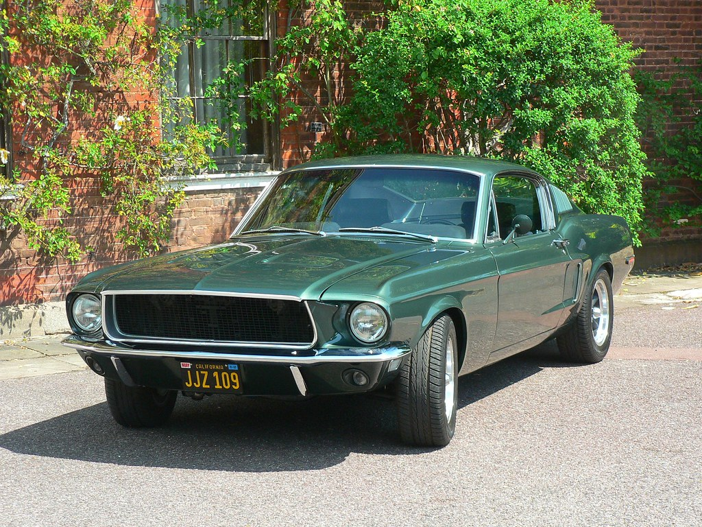 1968 Ford Mustang Fastback Jjz 109 Seen At The Mustang
