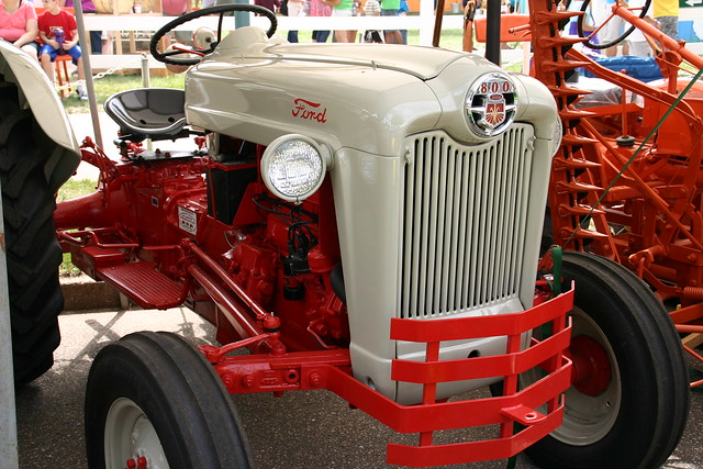 Ford 800 Tractor Information : Ford tractor  flickr photo sharing