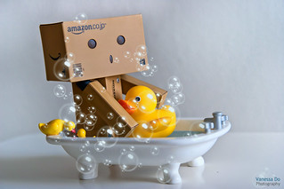 365.40 Danbo's Bath Time | by Vanessa Do