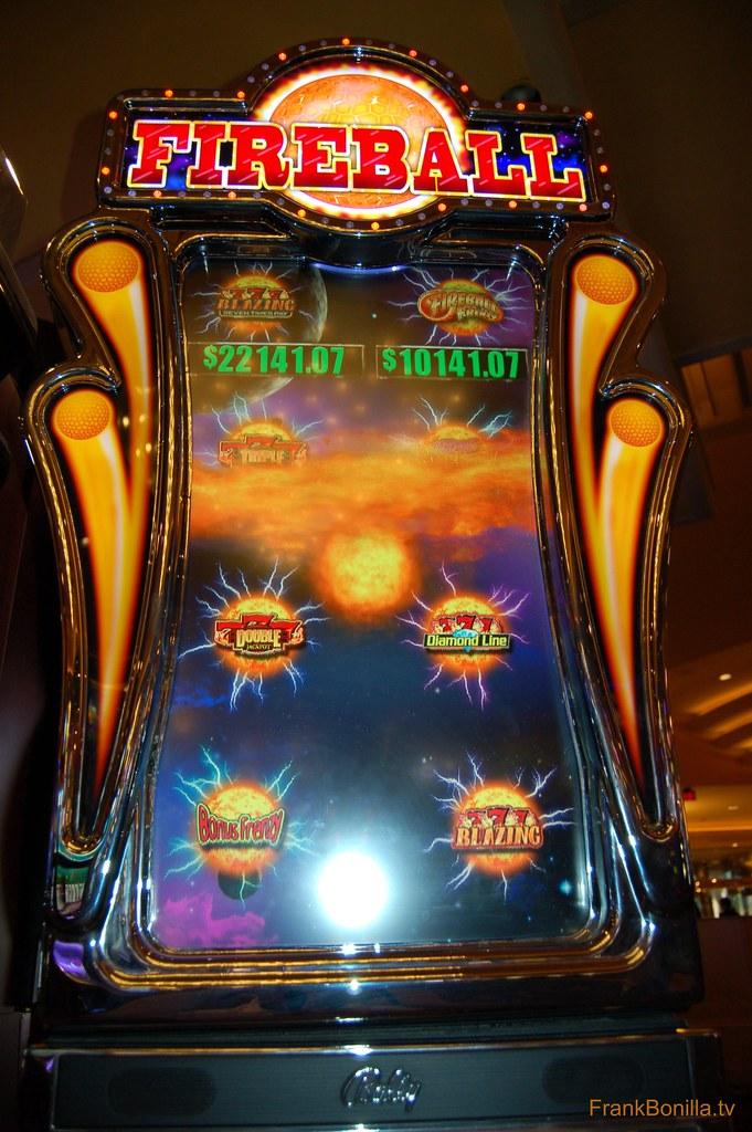fireball slots las vegas a fireball penny slot machine