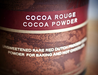 Cocoa Rouge Cocoa Powder | by Elissa @ 17 and Baking