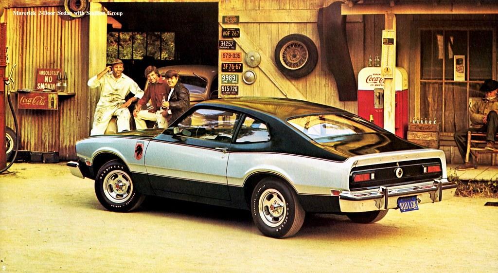 1976 Ford Maverick 2-Door Sedan with Stallion Group   Flickr