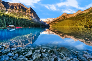Lake Louise On The Rocks | by nailbender