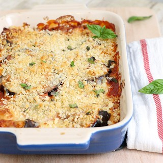 Eggplant Parmesan Casserole for Two | by Tracey's Culinary Adventures