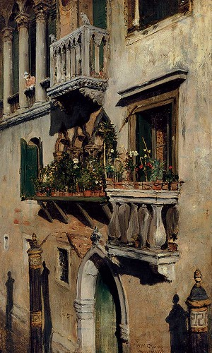 """Venice"" by William Merritt Chase 